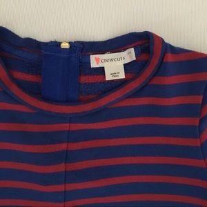 J. Crew Dresses - Crewcuts Striped Dress with Asymmetric Hem